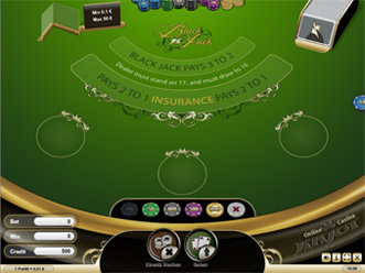 In blackjack what is a king worth
