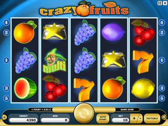 Crazy Fruits Game