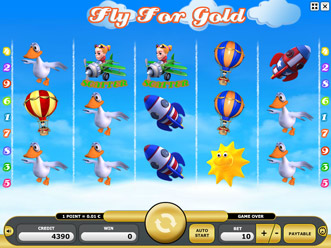 Fly For Gold Game