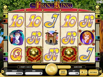 Frog King Game