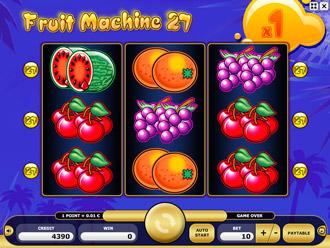 Fruit Machine 27 Game