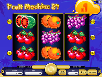 Fruit Machine 27 Game