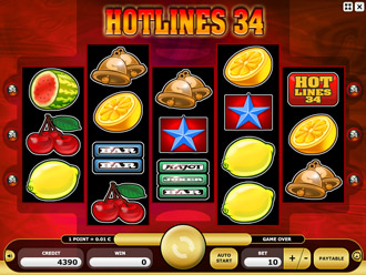 Hotlines 34 Game