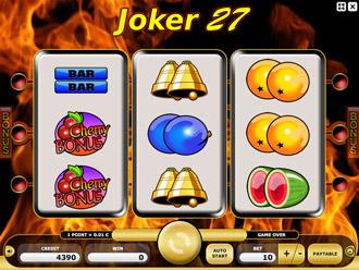 Home gt casino games gt 3 reels gt joker 27