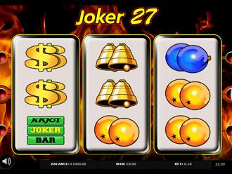 Joker 27 Go Game