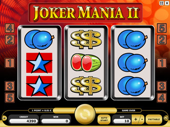 Joker Mania II Game