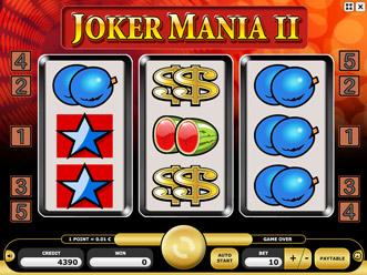 Joker Mania II Game