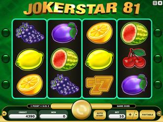 Joker Star 81 Game