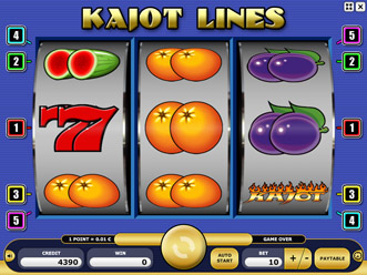 Kajot Lines Game