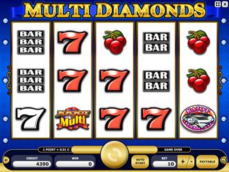 Multi Diamonds Game