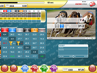 Racing Dogs Classic Game