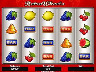 Retro Wheels Game