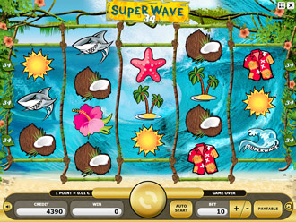 Superwave 34 Game