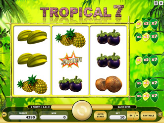 Tropical 7 Game