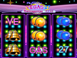 Vegas 27 Go Paytable