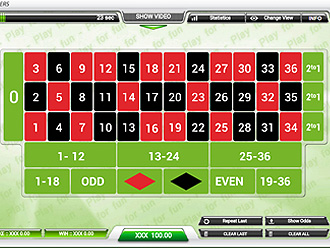 Virtual Roulette Game
